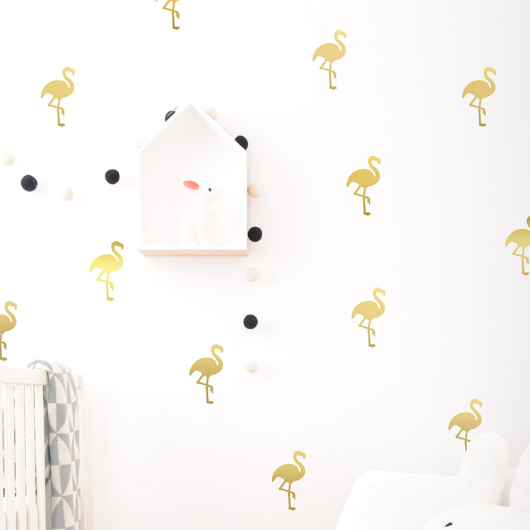 gold-flamingos-1