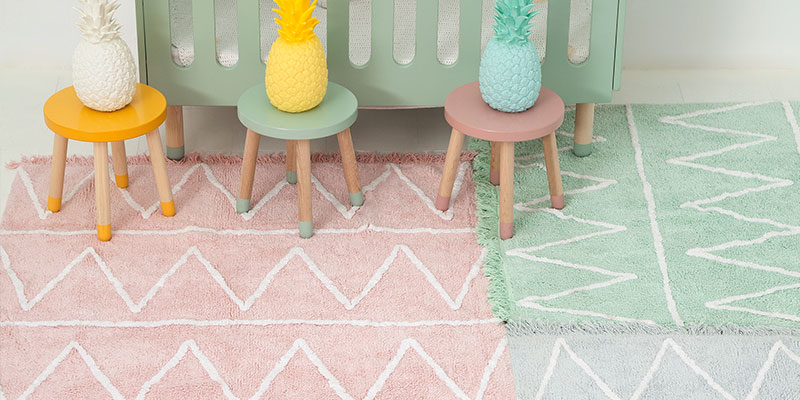 pastel rugs at cleverlittlemonkey.co.za