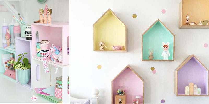 kids wall shelves